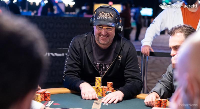 Phil Hellmuth (courtesy of Melissa Haereiti - Pokernews)